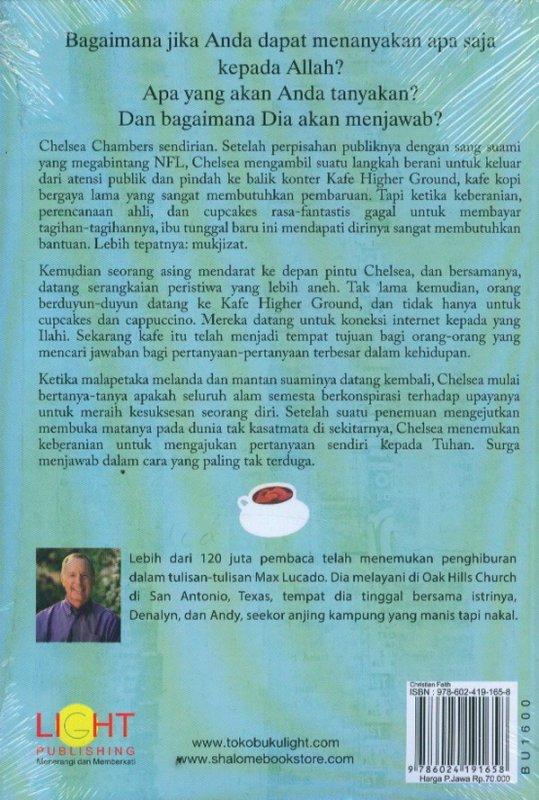 Cover Belakang Buku Mukjizat di Kafe Higher Grounds