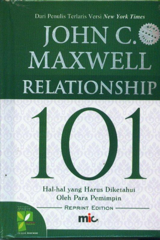 Cover Buku Relationship 101 Edisi revisi (Hard Cover)