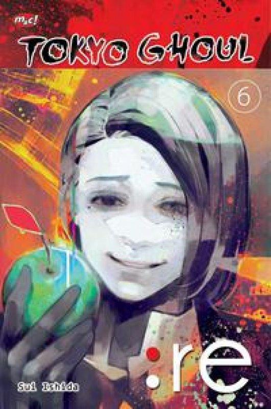 Cover Buku Tokyo Ghoul : Re 06 (Promo gedebuk)