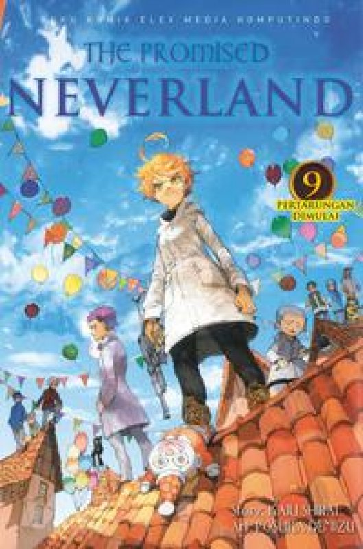 Cover Buku The Promised Neverland 9
