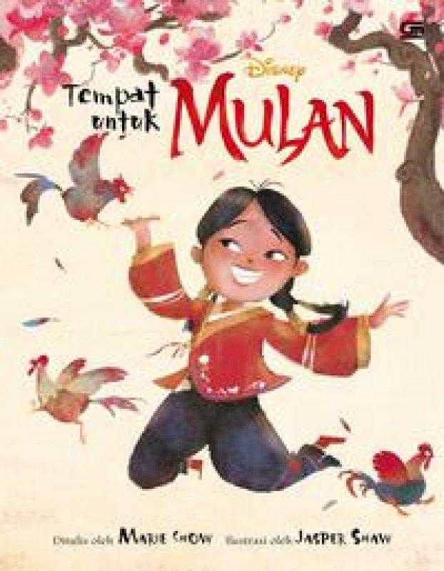 Cover Buku Mulan: Tempat untuk Mulan