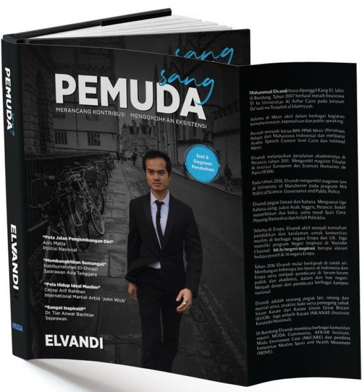 Cover Buku Sang PEMUDA : Merancang Kontribusi Mengokohkan Eksistensi