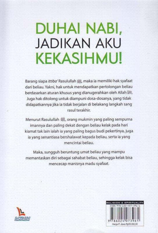 Cover Belakang Buku Duhai Nabi, Jadikan Aku Kekasihmu!