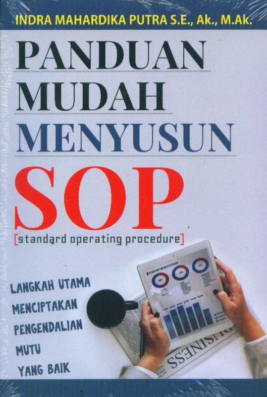 Cover Buku Panduan Mudah Menyusun SOP
