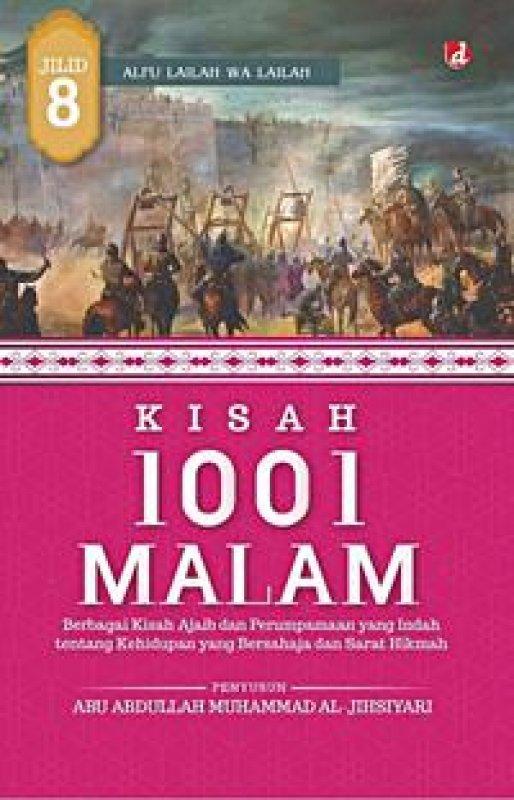 Cover Buku Kisah 1001 Malam 8