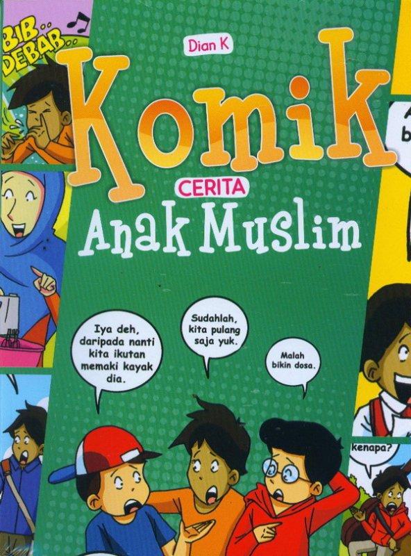 Cover Buku Komik Cerita Anak MusliM