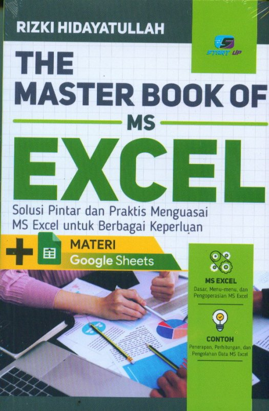 Cover Buku The Master Book MS Excel