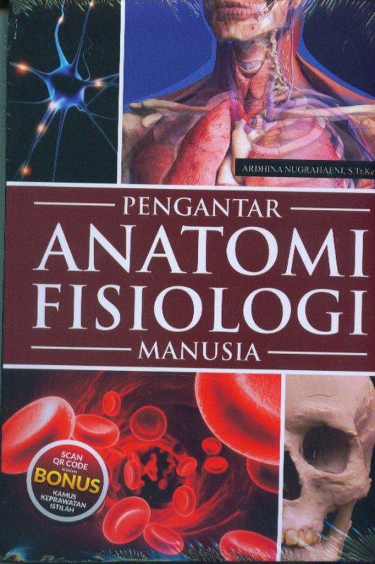 Cover Buku Pengantar Anatomi Fisiologi Manusia