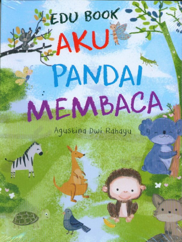 Cover Buku EDU BOOK: Aku Pandai Membaca