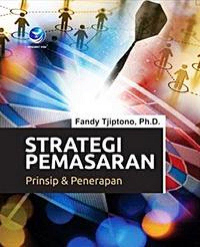 Cover Buku Strategi Pemasaran, Prinsip Dan Penerapan
