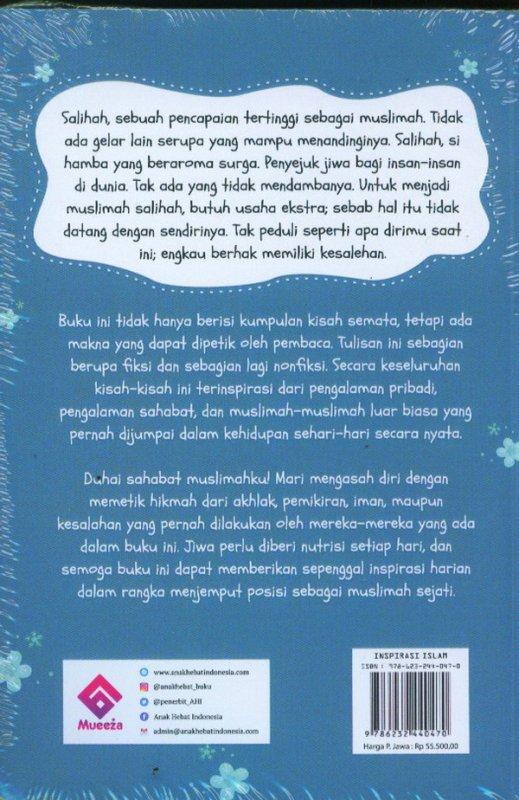 Cover Belakang Buku Diaries Of Ukhti