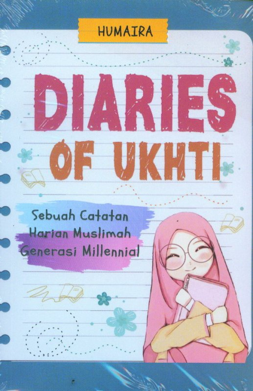 Cover Buku Diaries Of Ukhti