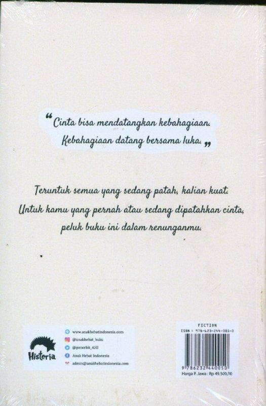 Cover Belakang Buku Dan Kita Bicara Cinta