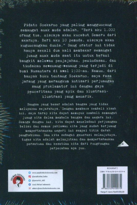 Cover Belakang Buku Soekarno Sebuah Biografi