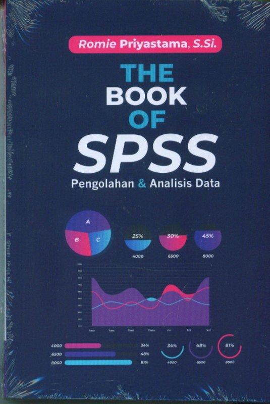 Cover Buku The Book Of SPSS Pengolahan & Analisis Data