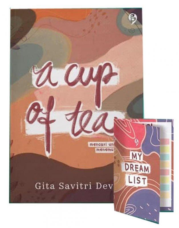Cover Buku A Cup Of Tea ( Reguler ) (Promo Best Book)