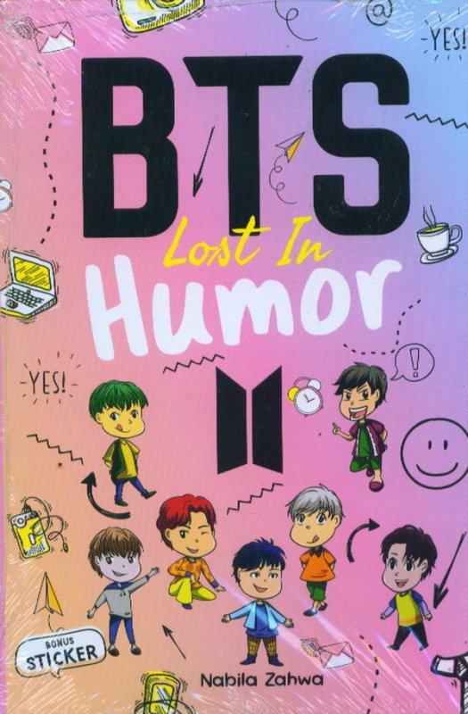 Cover Buku BTS Lost In Humor