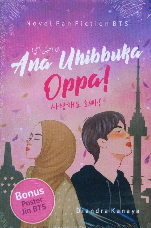 Cover Buku Ana Uhibbuka Oppa!