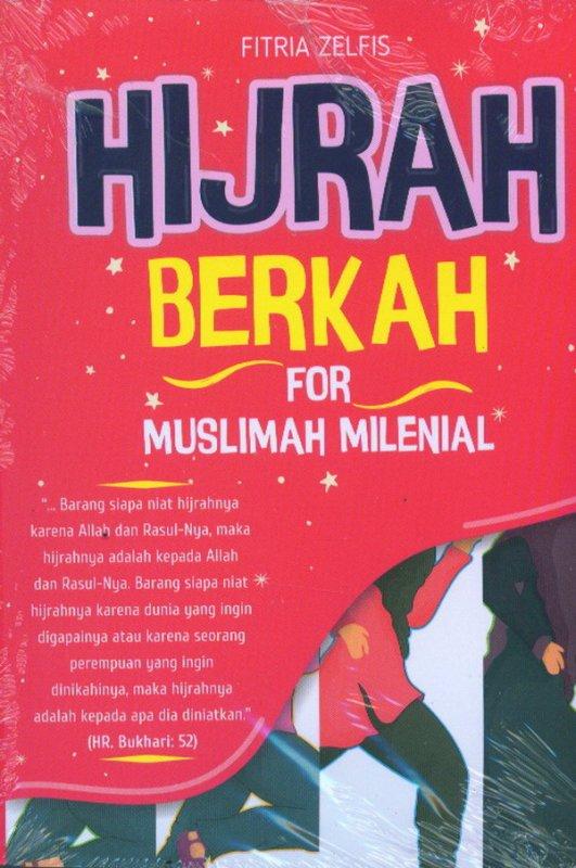 Cover Buku Hijrah Berkah For Muslimah Milenial