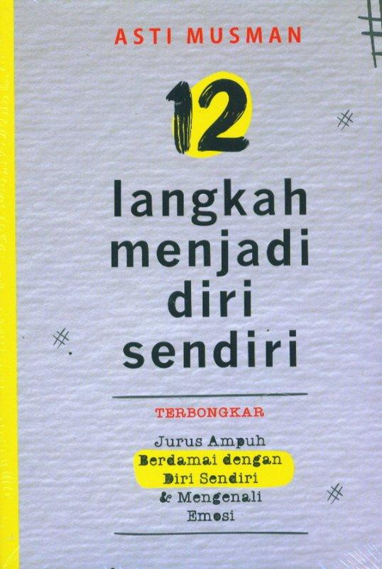 Cover Buku 12 Langkah Menjadi Diri Sendiri