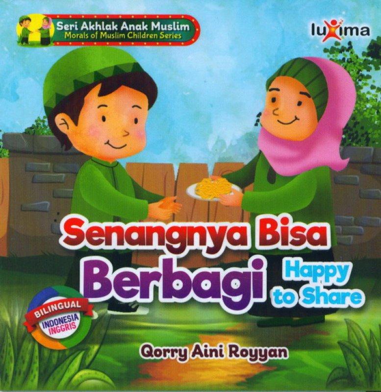 Cover Buku Senangnya Bisa Berbagi Happy To Share