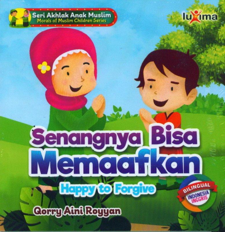 Cover Buku Senangnya Bisa Memaafkan Happy To Forgive