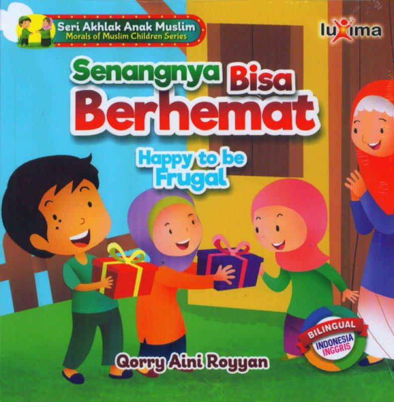 Cover Buku Senangnya Bisa Berhemat Happy To Be Frugal