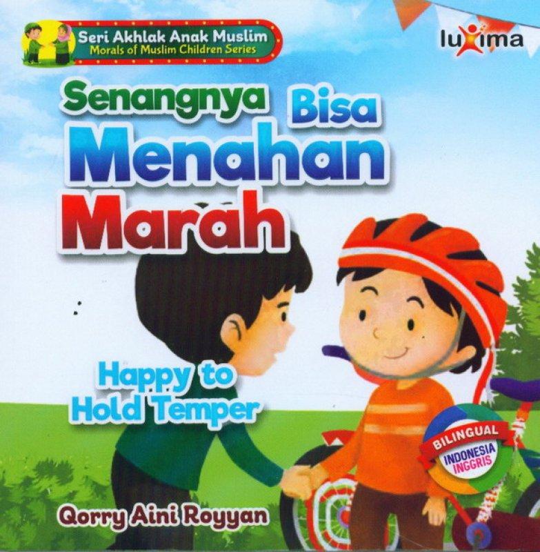 Cover Buku Senangnya Bisa Menahan Marah Happy To Hold Temper