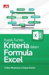 Kupas Tuntas Kriteria dalam Formula Excel