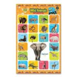 Opredo Poster 2 In 1 Gogo Dino: Wild Animals And Tame Animal