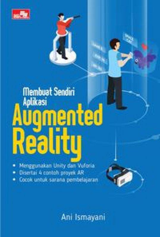 Cover Buku Membuat Sendiri Aplikasi Augmented Reality