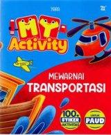My Activity Mewarnai Transportasi