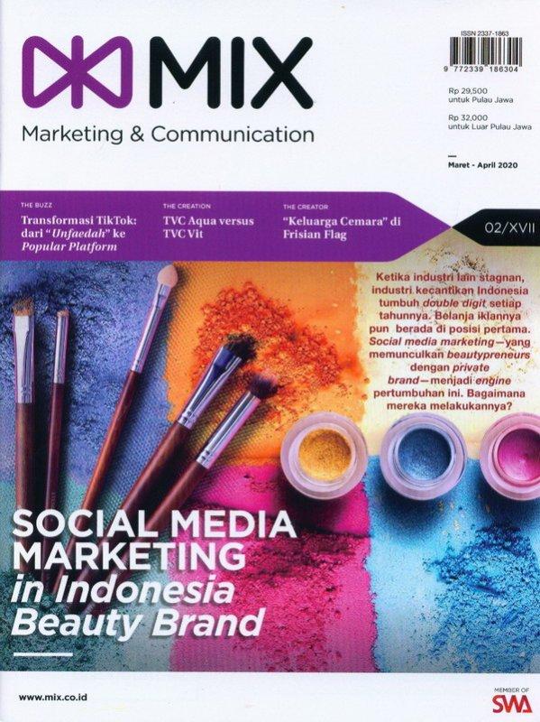 Cover Buku Majalah Mix NO 02 Edisi XVI Maret-April 2020
