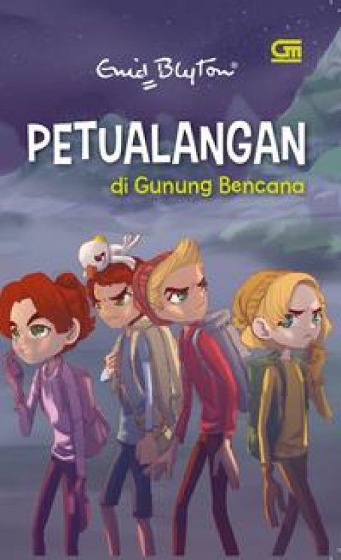 Cover Buku Petualangan di Gunung Bencana (cover baru)