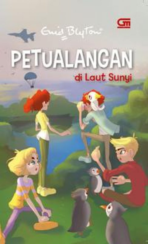 Cover Buku Petualangan di Laut Sunyi (seri petualangan)