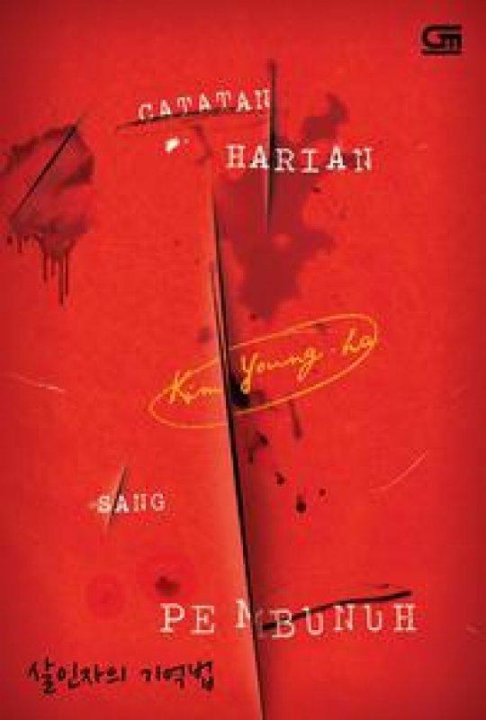 Cover Buku Catatan Harian Sang Pembunuh (Diary Of A Murderer)