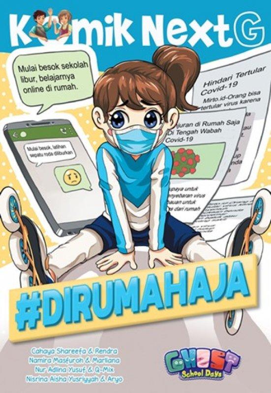 Cover Buku Komik Next G: #DiRumahAja