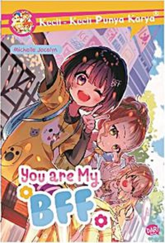 Cover Buku Kkpk: You Are My Bff