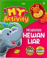 My Activity Mewarnai Hewan Liar