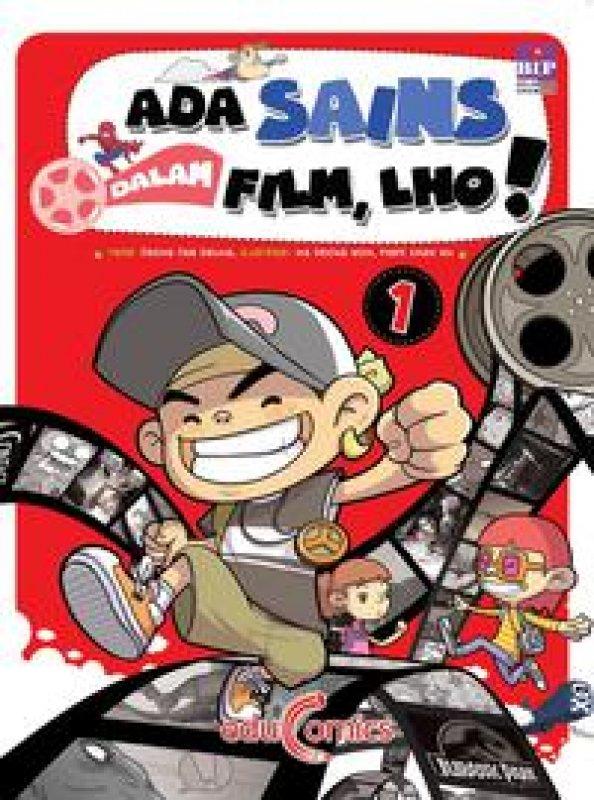 Cover Buku Ada Sains Dalam Film, Lho! 1