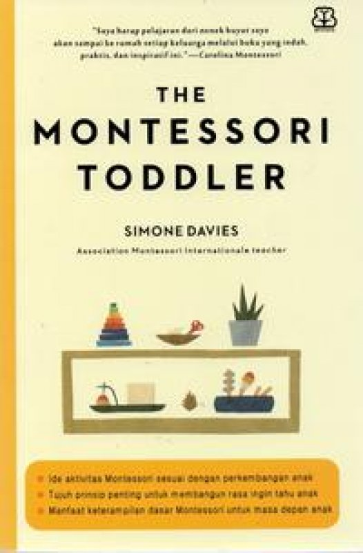 Cover Buku The Montessori Toddler