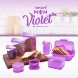 Smart Mom Violet Breakfast Set: Tempat Penyimpanan Serba Guna