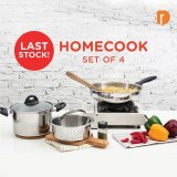 Homecook 4 - Piece Cookware (set of 4)