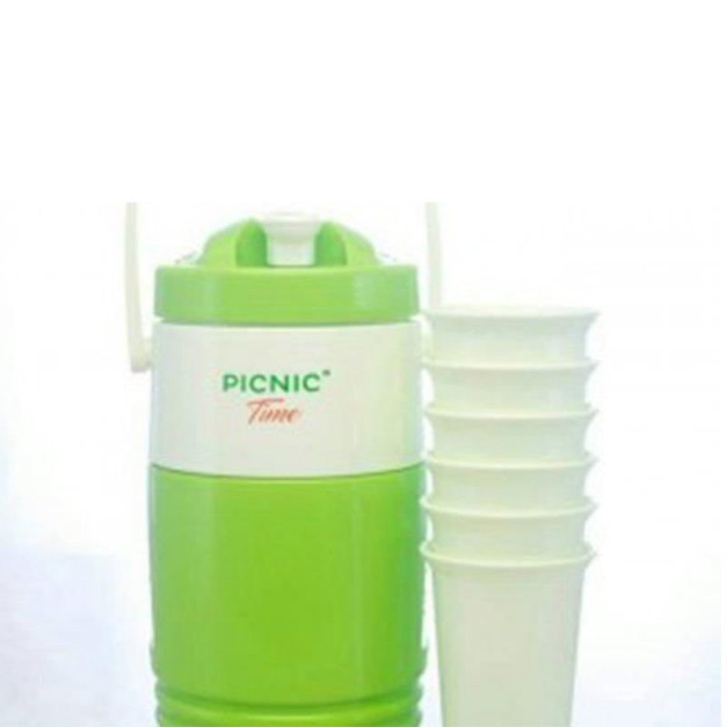 Cover Belakang Buku Picnic Time Cooler set: Peraktis Buat di Bawa Piknik Kemana Aja