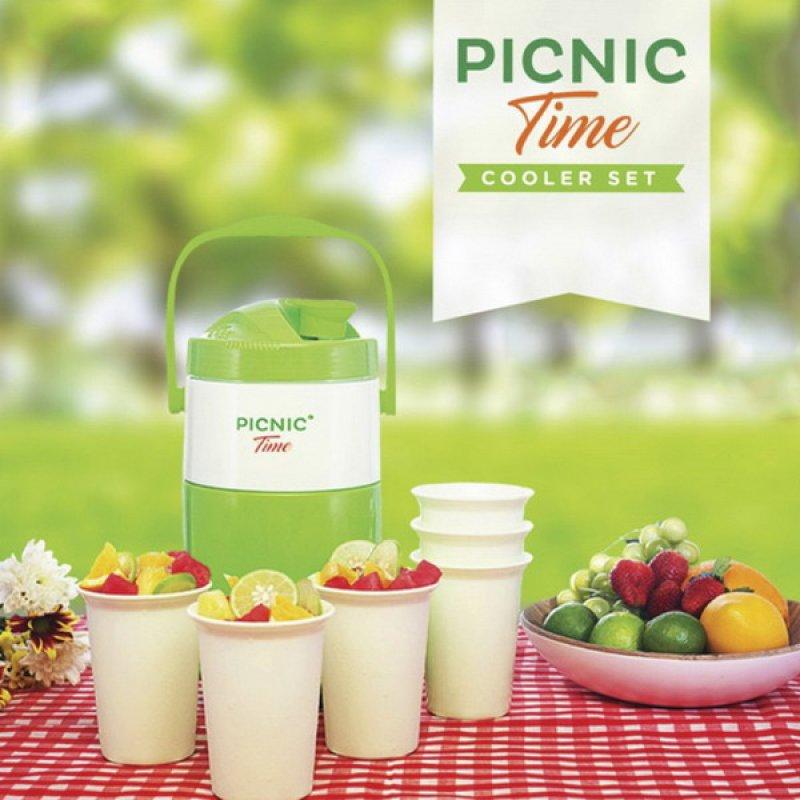 Cover Buku Picnic Time Cooler set: Peraktis Buat di Bawa Piknik Kemana Aja