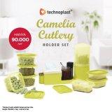 Technoplast Camelia Cutlery Holder 2 Set: Tempat Penyimpanan Serba Guna
