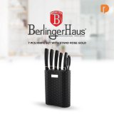 Berlinger Haus 7 Pcs Knife With Stand Rose Gold: Pisau Anti Karat Yang Wajib Anda Miliki