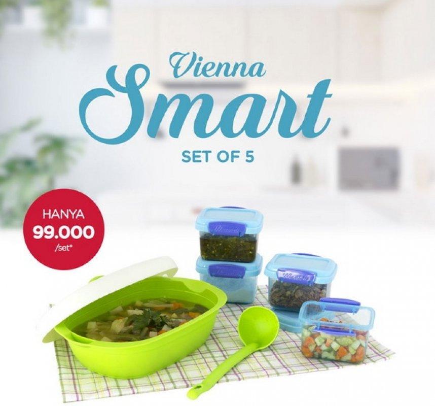 Cover Buku Vienna Smart 3 Set Of 5: Tempat Penyajian Makanan