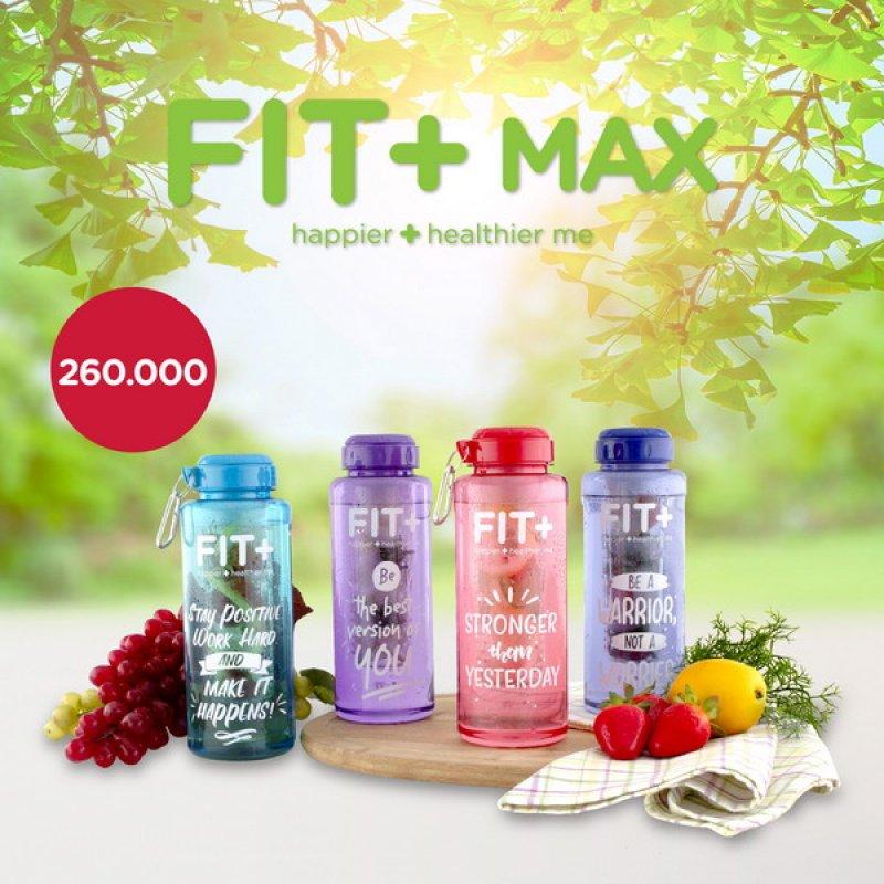 Cover Buku Fit + Max 1150 ML: Botol Minum Jumbo Cocok Buat Aktivitas Harian Anda