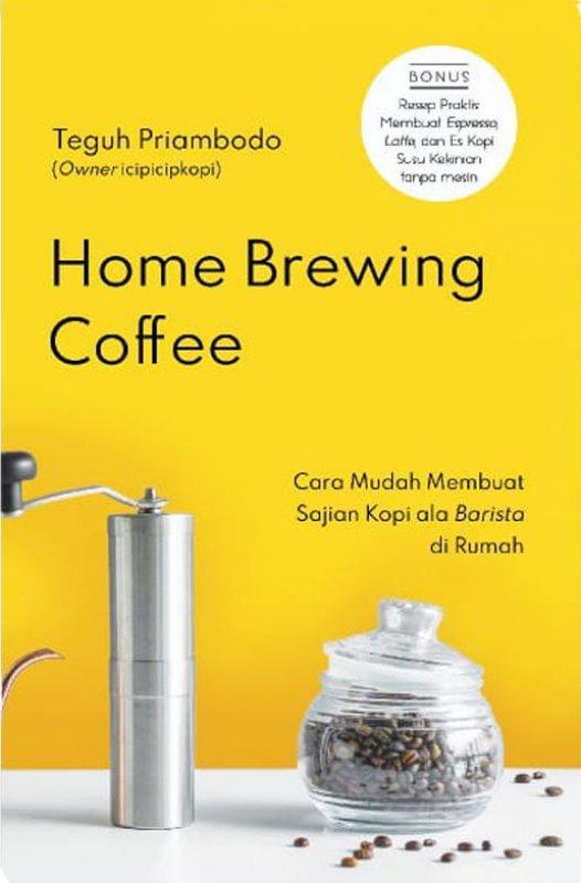 Cover Buku Home Brewing Coffee